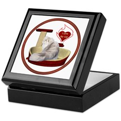 Cat #11 Keepsake Box