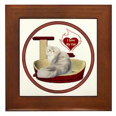 Cat #11 Framed Tile