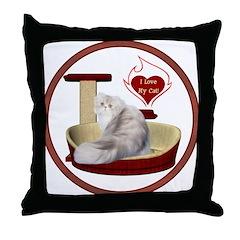 Cat #11 Throw Pillow