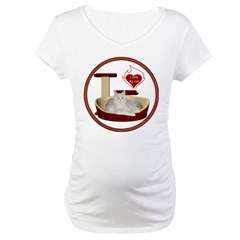 Cat #12 Maternity T-Shirt