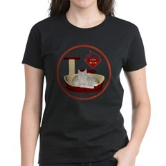 Cat #12 Women's Dark T-Shirt