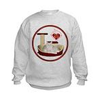 Cat #12 Kids Sweatshirt
