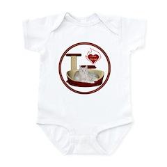 Cat #12 Infant Bodysuit