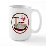 Cat #12 Large Mug