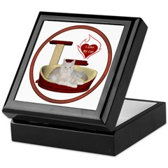 Cat #12 Keepsake Box
