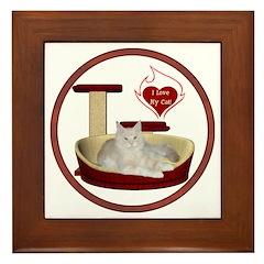 Cat #12 Framed Tile