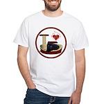 Cat #13 White T-Shirt