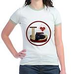 Cat #13 Jr. Ringer T-Shirt