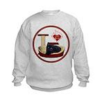 Cat #13 Kids Sweatshirt