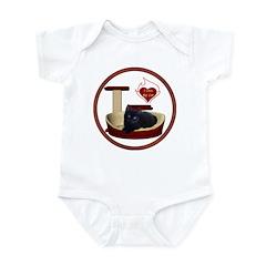 Cat #13 Infant Bodysuit