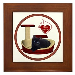 Cat #13 Framed Tile