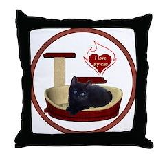 Cat #13 Throw Pillow