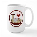 Cat #14 Large Mug