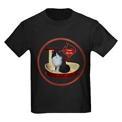 Cat #15 Kids Dark T-Shirt