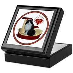 Cat #15 Keepsake Box