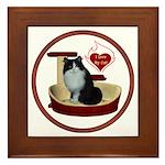 Cat #15 Framed Tile