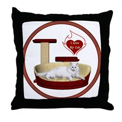 Cat #16 Throw Pillow