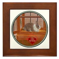 Bunny #1 Framed Tile