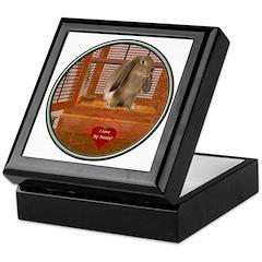 Bunny #2 Keepsake Box