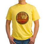 Bunny #3 Yellow T-Shirt