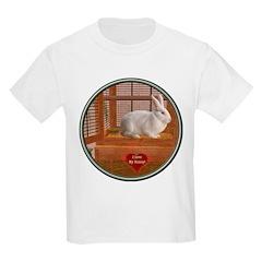 Bunny #3 Kids Light T-Shirt
