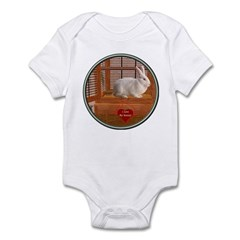 Bunny #3 Infant Bodysuit