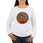 Chinchilla #1 Women's Long Sleeve T-Shirt