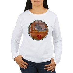 Chinchilla #1 Women's Long Sleeve T-Shirt