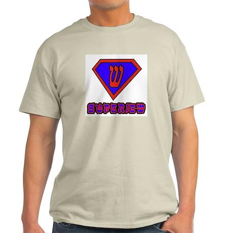 Super Jew Ash Grey T-Shirt