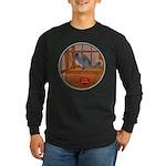 Chinchilla #1 Long Sleeve Dark T-Shirt