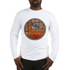 Chinchilla #1 Long Sleeve T-Shirt