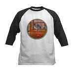 Chinchilla #1 Kids Baseball Jersey