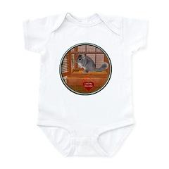 Chinchilla #1 Infant Bodysuit