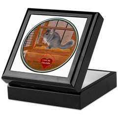 Chinchilla #1 Keepsake Box