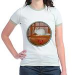 Chincilla #2 Jr. Ringer T-Shirt