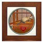 Ferret #1 Framed Tile