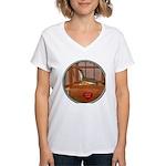 Ferret #2 Women's V-Neck T-Shirt