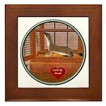 Ferret #2 Framed Tile