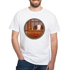 Guinea Pig #1 White T-Shirt