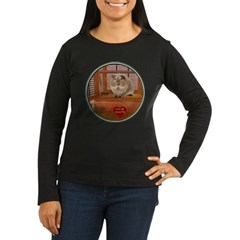 Guinea Pig #2 Women's Long Sleeve Dark T-Shirt