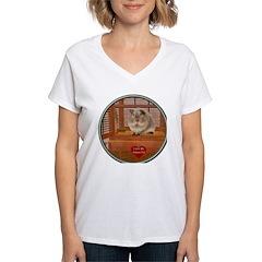 Guinea Pig #2 Women's V-Neck T-Shirt
