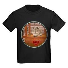 Guinea Pig #2 Kids Dark T-Shirt