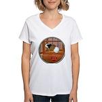 Guinea Pig #3 Women's V-Neck T-Shirt