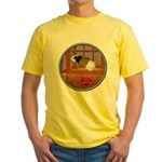 Guinea Pig #3 Yellow T-Shirt