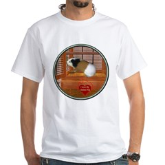 Guinea Pig #3 White T-Shirt