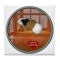 Guinea Pig #3 Tile Coaster