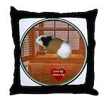 Guinea Pig #3 Throw Pillow