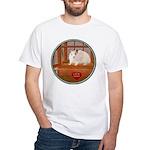 Hamster #1 White T-Shirt
