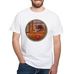 Hamster #2 White T-Shirt