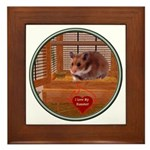 Hamster #2 Framed Tile